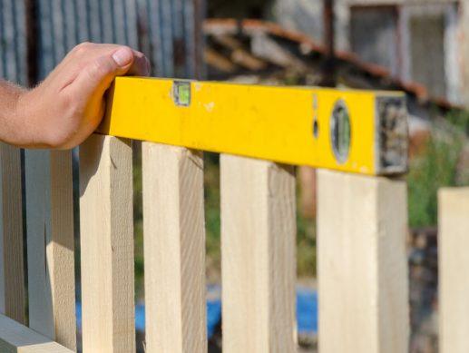repairing white fence Milton ma